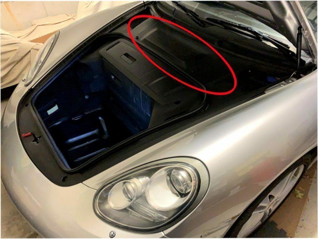 CaymanHQ - Best Battery for Your Porsche Cayman - Battery Location