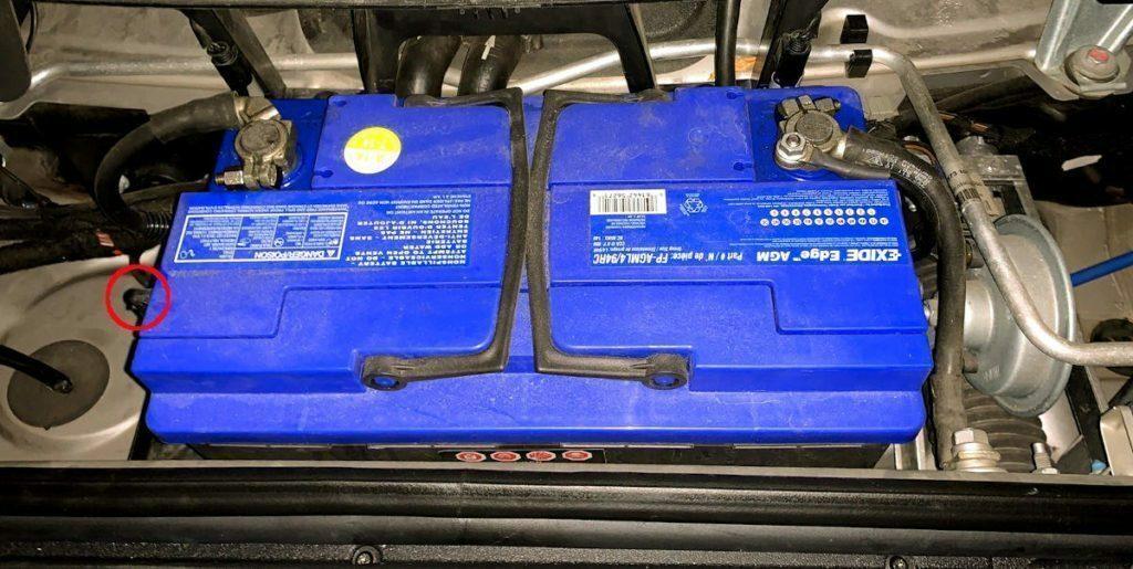 CaymanHQ - Best Battery for Your Porsche Cayman - Battery Vent Hose
